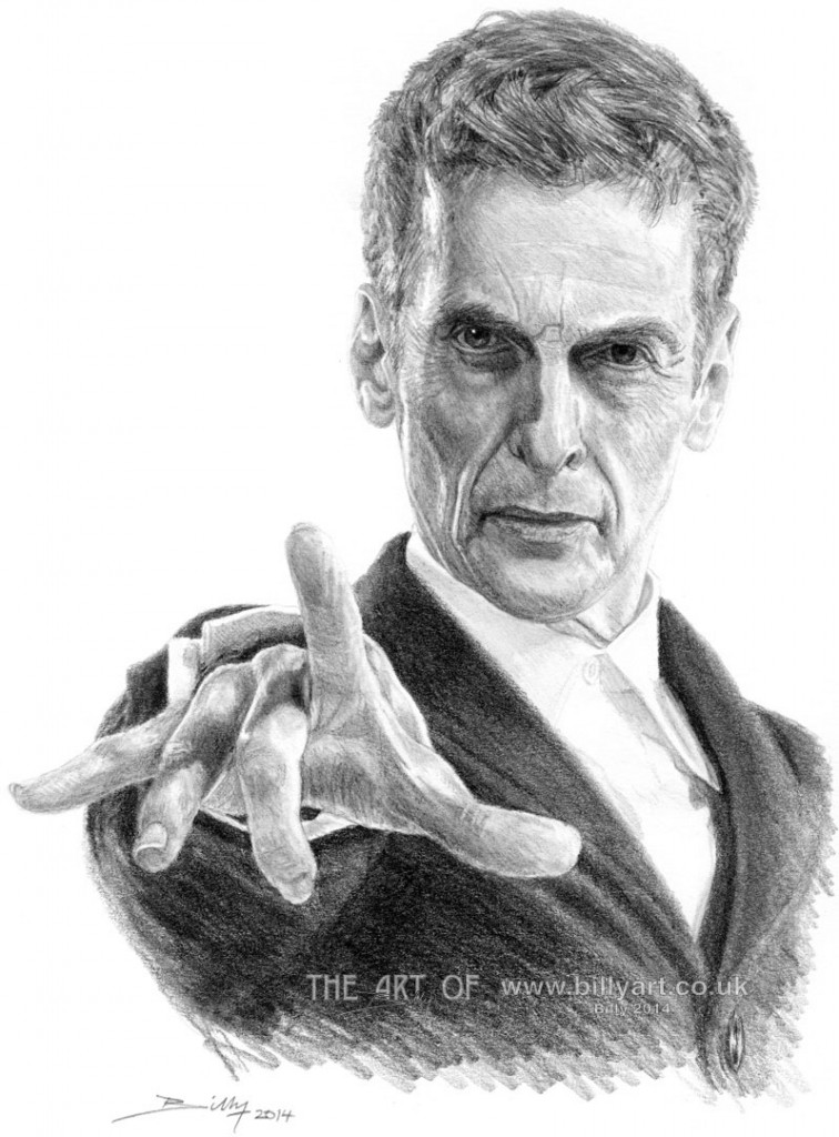 Dr Who Peter Capaldi blog